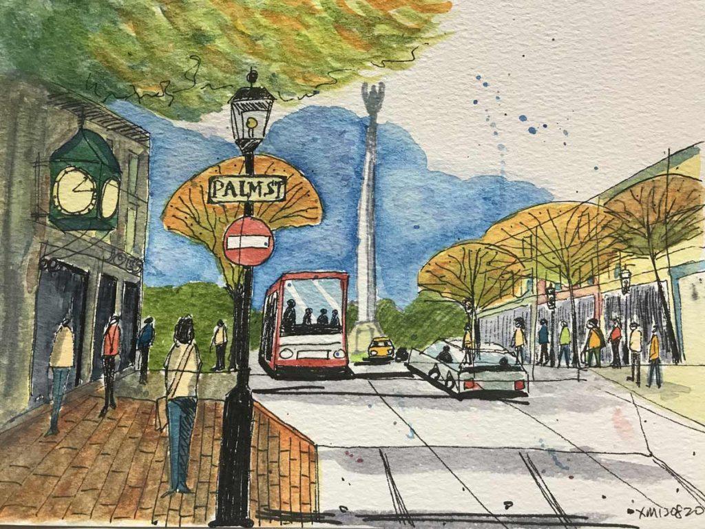 Urban Sketch 1